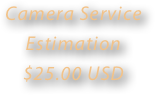 Camera Service Estimation